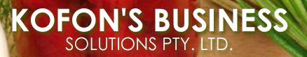 Kofon's Business Solutions Pty Ltd