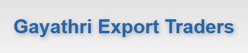 Gayathri Export Traders