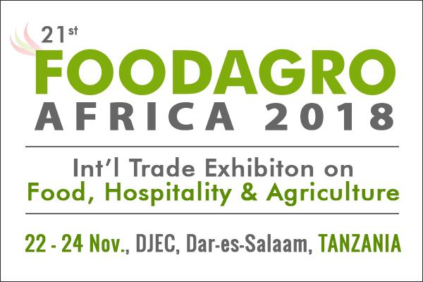 21st Foodagro Tanzania 2018 Food Hospitality & Agriculture