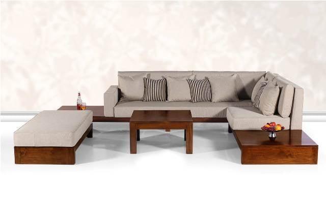Teak Wood Sofa Set - Furnishing1.com