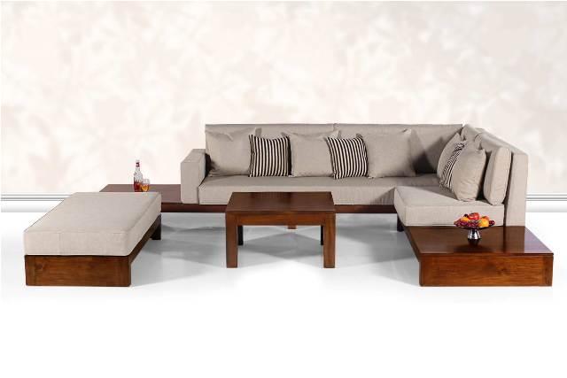 Teak Wood Sofa Set Furnishing1