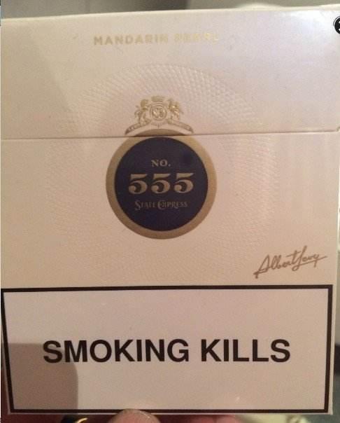 Hard Pack For 555 Cigarette Regal King Size